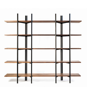 Walnut Folding Bookshelf WB-8225 ★ [20%SALE]